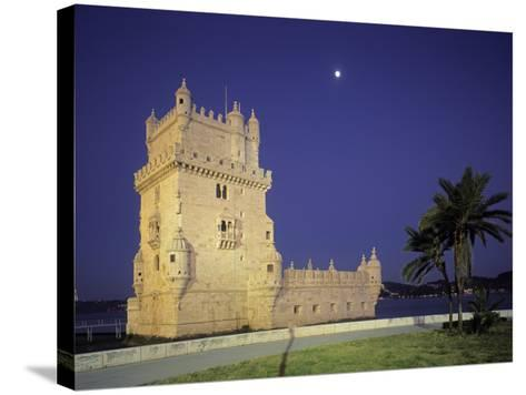 Belem Tower, Lisbon, Portugal-Jon Arnold-Stretched Canvas Print