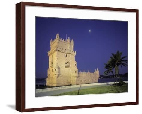 Belem Tower, Lisbon, Portugal-Jon Arnold-Framed Art Print