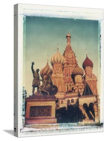St. Basil's Cathedral, Red Square, Moscow, Russia-Jon Arnold-Stretched Canvas Print