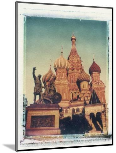 St. Basil's Cathedral, Red Square, Moscow, Russia-Jon Arnold-Mounted Photographic Print