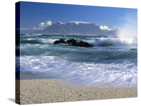 Table Mountain, Cape Town, South Africa-Peter Adams-Stretched Canvas Print