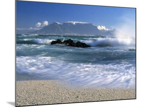 Table Mountain, Cape Town, South Africa-Peter Adams-Mounted Photographic Print