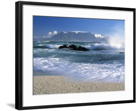 Table Mountain, Cape Town, South Africa-Peter Adams-Framed Art Print