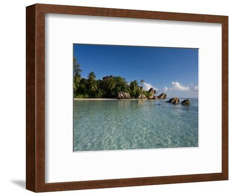 Anse Source d'Argent Beach, La Digue Island, Seychelles-Michele Falzone-Framed Art Print