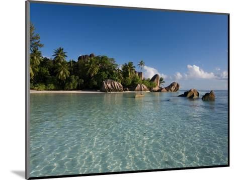 Anse Source d'Argent Beach, La Digue Island, Seychelles-Michele Falzone-Mounted Photographic Print