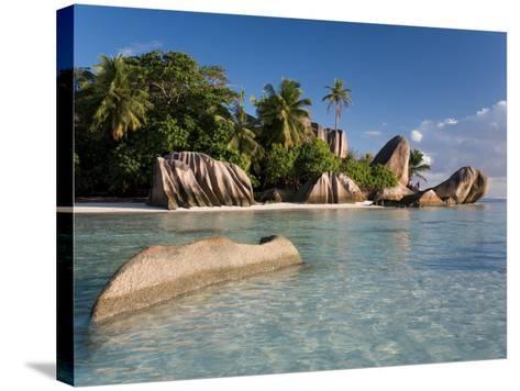 Anse Source d'Argent Beach, La Digue Island, Seychelles-Michele Falzone-Stretched Canvas Print