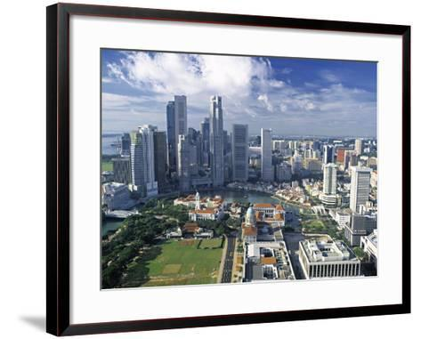 Financial District, Singapore-Alan Copson-Framed Art Print