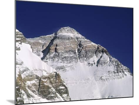 Everest North Face, Tibet-Pat Parsons-Mounted Photographic Print