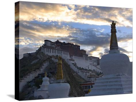 Potala Palace, Lhasa, Tibet-Michele Falzone-Stretched Canvas Print