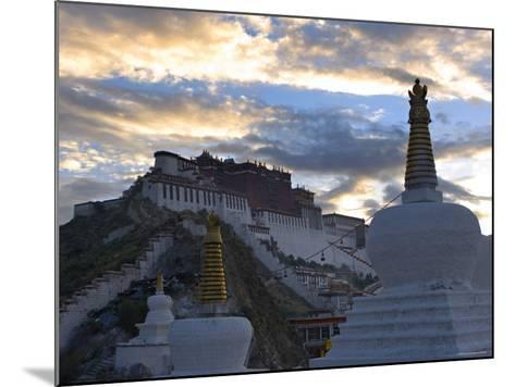 Potala Palace, Lhasa, Tibet-Michele Falzone-Mounted Photographic Print