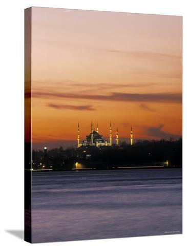 Blue Mosque, Istanbul, Turkey-Jon Arnold-Stretched Canvas Print