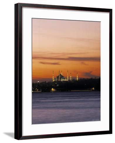 Blue Mosque, Istanbul, Turkey-Jon Arnold-Framed Art Print