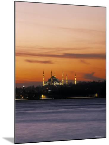 Blue Mosque, Istanbul, Turkey-Jon Arnold-Mounted Photographic Print