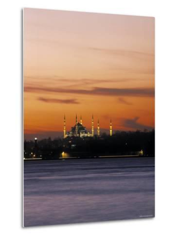 Blue Mosque, Istanbul, Turkey-Jon Arnold-Metal Print