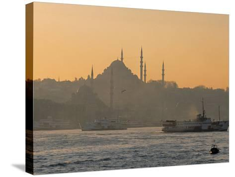 Suleymaniye Mosque, Istanbul, Turkey, Istanbul, Turkey-Jon Arnold-Stretched Canvas Print