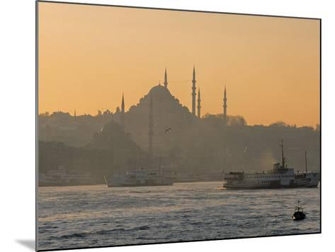 Suleymaniye Mosque, Istanbul, Turkey, Istanbul, Turkey-Jon Arnold-Mounted Photographic Print