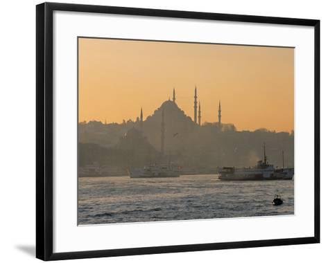 Suleymaniye Mosque, Istanbul, Turkey, Istanbul, Turkey-Jon Arnold-Framed Art Print