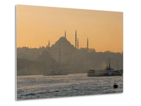 Suleymaniye Mosque, Istanbul, Turkey, Istanbul, Turkey-Jon Arnold-Metal Print