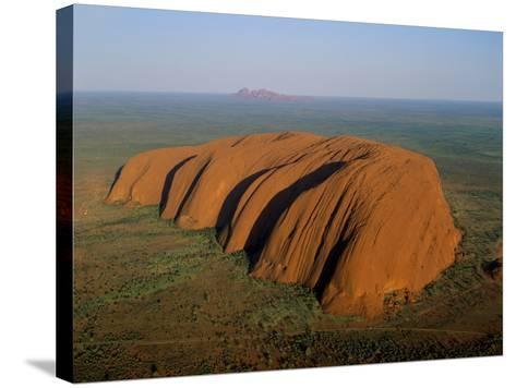 Uluru, Kata Tjuta National Park, Northern Territory, Australia-Steve Vidler-Stretched Canvas Print