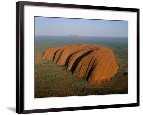 Uluru, Kata Tjuta National Park, Northern Territory, Australia-Steve Vidler-Framed Art Print