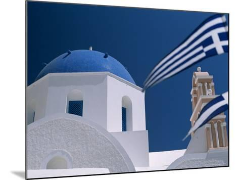 Santorini, Oia, Cyclades Islands, Greece-Steve Vidler-Mounted Photographic Print