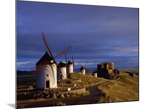 La Mancha, Windmills, Consuegra, Castilla-La Mancha, Spain-Steve Vidler-Mounted Photographic Print