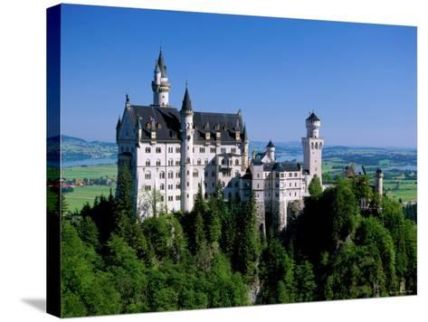 Neuschwanstein Castle, Bavaria, Germany-Steve Vidler-Stretched Canvas Print