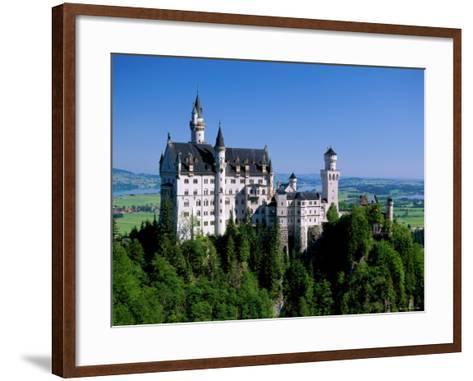 Neuschwanstein Castle, Bavaria, Germany-Steve Vidler-Framed Art Print
