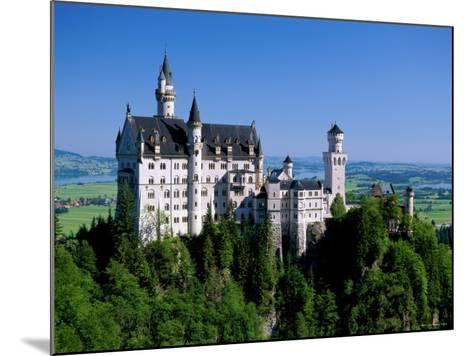 Neuschwanstein Castle, Bavaria, Germany-Steve Vidler-Mounted Photographic Print
