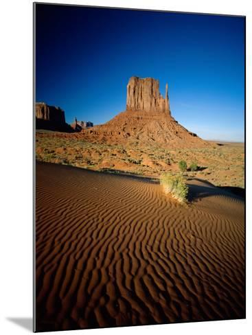 Monument Valley and Sand Dunes, Arizona, USA-Steve Vidler-Mounted Photographic Print