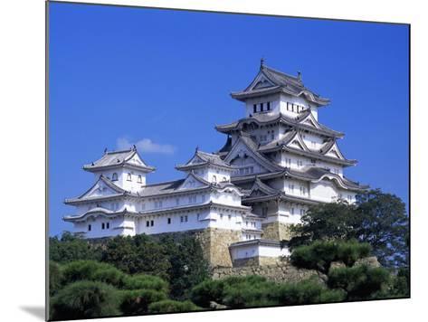 Himeji Castle, Honshu, Japan-Steve Vidler-Mounted Photographic Print