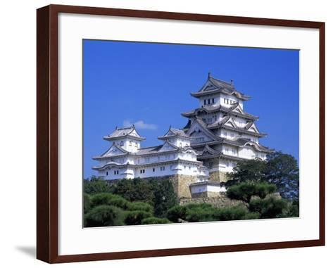 Himeji Castle, Honshu, Japan-Steve Vidler-Framed Art Print