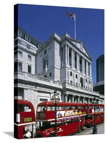 Bank of England, London, England-Rex Butcher-Stretched Canvas Print