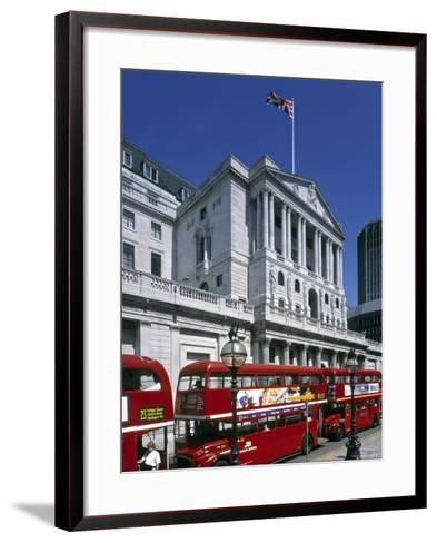 Bank of England, London, England-Rex Butcher-Framed Art Print