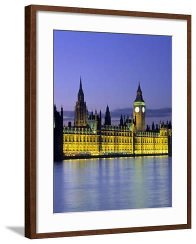 Houses of Parliament, London, England-Rex Butcher-Framed Art Print