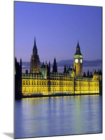 Houses of Parliament, London, England-Rex Butcher-Mounted Photographic Print