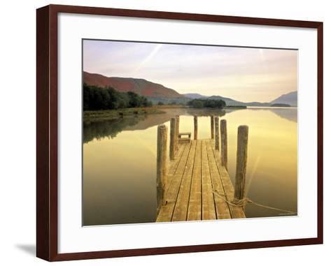 Derwent Water, Lake District, Cumbria, England-Peter Adams-Framed Art Print