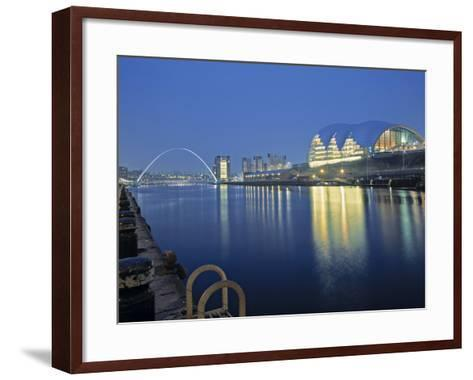 Sage Theatre, Gateshead, Newcastle, Tyne and Wear, England-Robert Lazenby-Framed Art Print