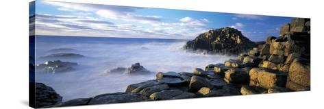 Giants Causeway, Northern Ireland-Peter Adams-Stretched Canvas Print