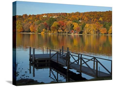 Lake Waramaug, Connecticut, New England, USA-Demetrio Carrasco-Stretched Canvas Print