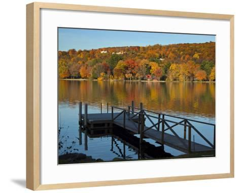 Lake Waramaug, Connecticut, New England, USA-Demetrio Carrasco-Framed Art Print