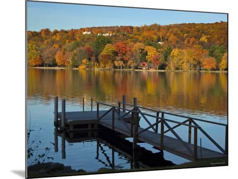 Lake Waramaug, Connecticut, New England, USA-Demetrio Carrasco-Mounted Photographic Print