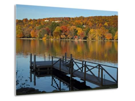 Lake Waramaug, Connecticut, New England, USA-Demetrio Carrasco-Metal Print