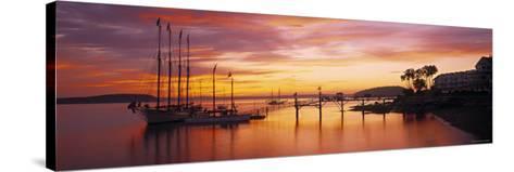 Bar Harbor, Mt. Desert Island, Maine, USA-Walter Bibikow-Stretched Canvas Print