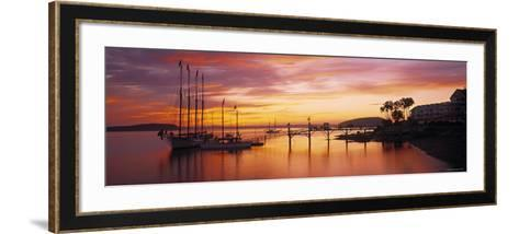 Bar Harbor, Mt. Desert Island, Maine, USA-Walter Bibikow-Framed Art Print