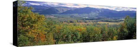 Great Smokey Mountains, Tennessee, USA-Walter Bibikow-Stretched Canvas Print