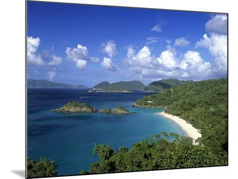 Trunk Bay, St. John, Us Virgin Islands, Caribbean-Walter Bibikow-Mounted Photographic Print