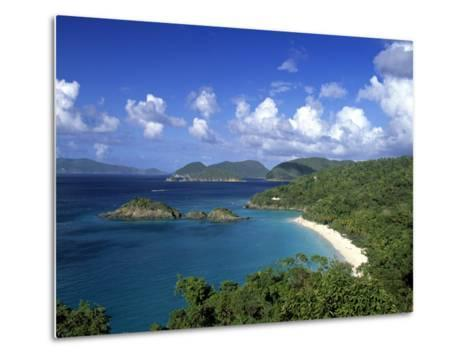 Trunk Bay, St. John, Us Virgin Islands, Caribbean-Walter Bibikow-Metal Print