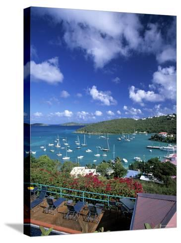 Cruz Bay, St. John, Us Virgin Islands, Caribbean-Walter Bibikow-Stretched Canvas Print