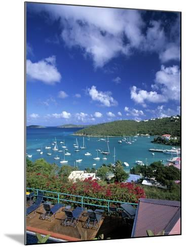 Cruz Bay, St. John, Us Virgin Islands, Caribbean-Walter Bibikow-Mounted Photographic Print